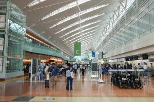 羽田空港のターミナル