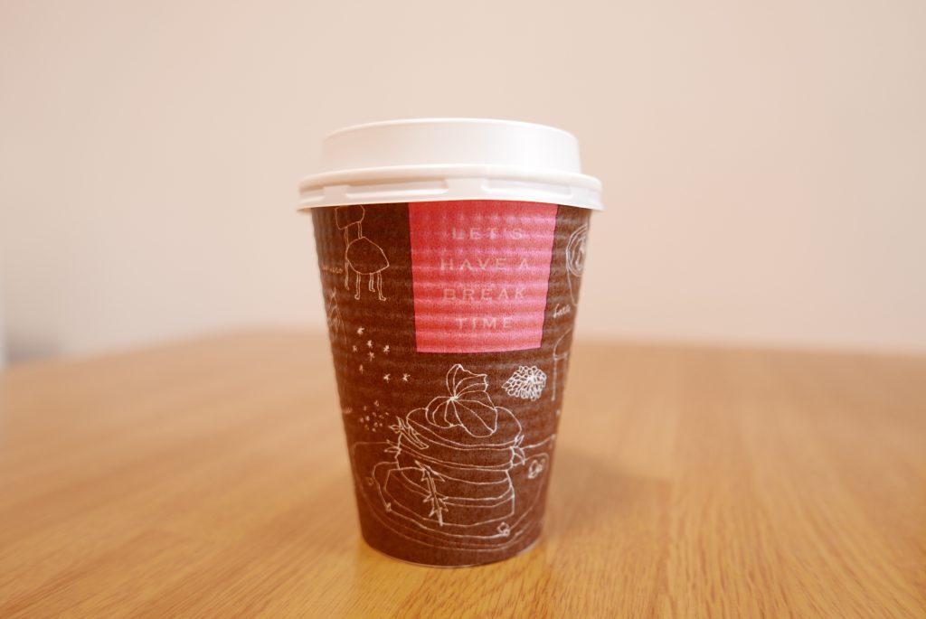 コーヒーのテイクアウト