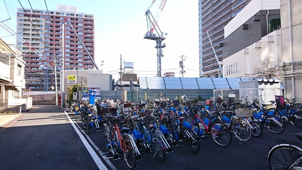 東洋カーマックス武蔵小山駅前駐輪場